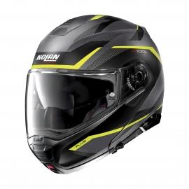 Moto helma Nolan N100-5 Plus Overland N-Com Flat Lava Grey 33