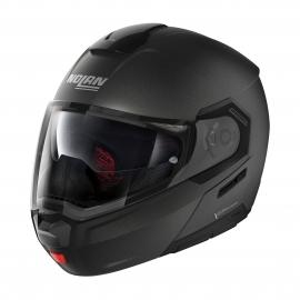 Moto helma Nolan N90-3 Classic N-Com Black Graphite 9