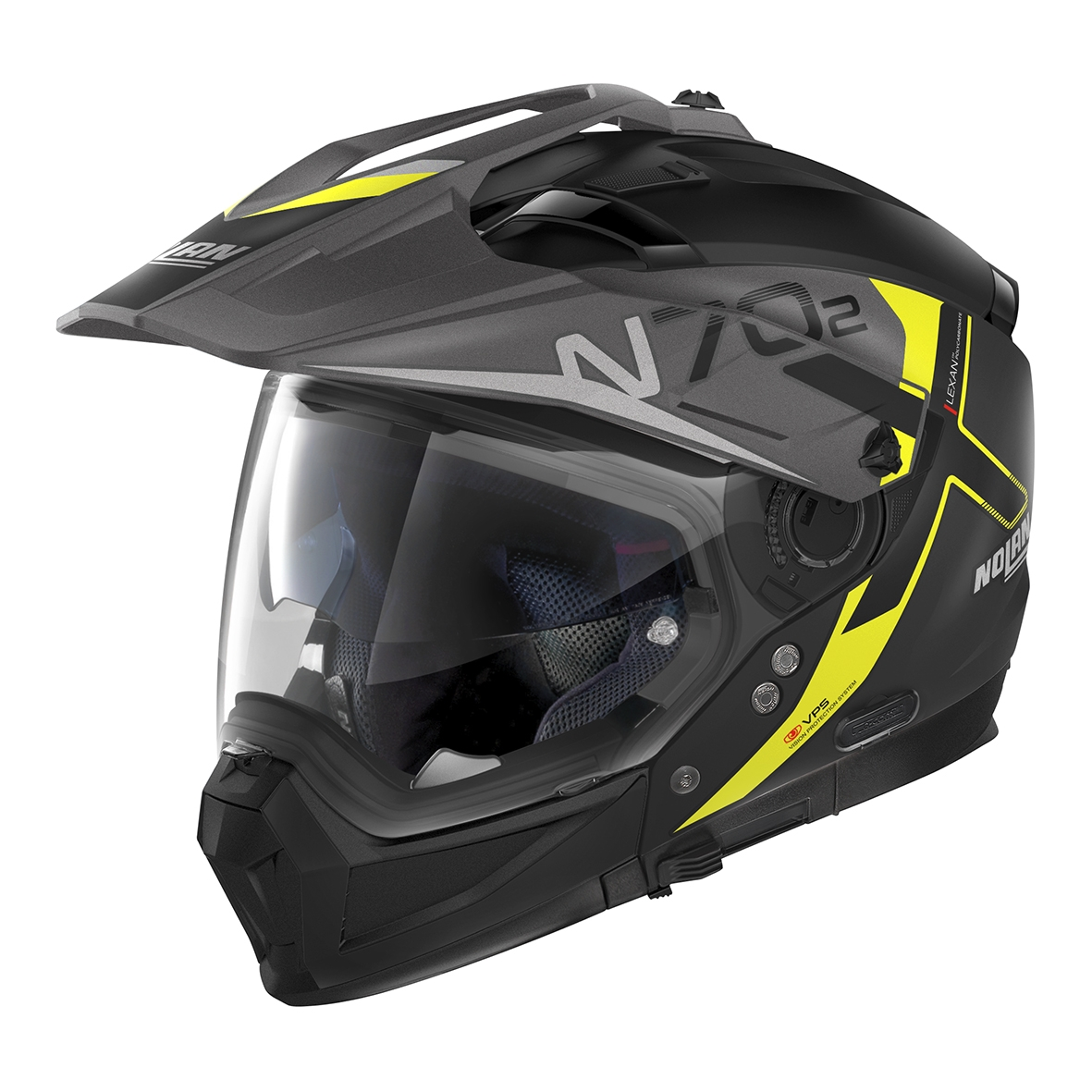 Moto helma Nolan N70-2 X Bungee N-Com Flat Black 36