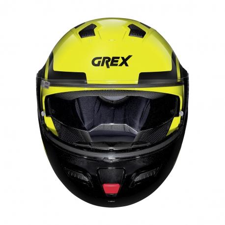 Moto helma Grex G9.1 Evolve Crossroad N-COM Led Yellow 42