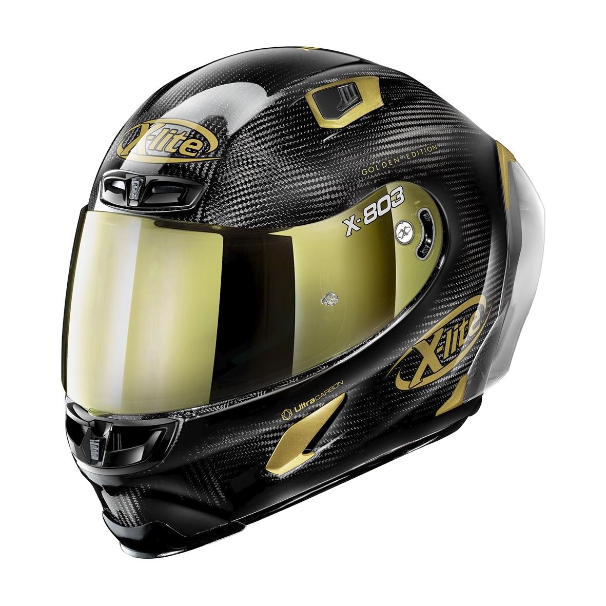Moto helma X-Lite X-803 RS Ultra Carbon Gold Edition Carbon 33