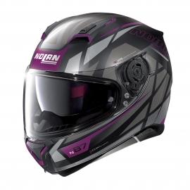 Moto helma Nolan N87 Originality N-Com Flat Black 71