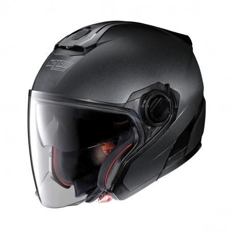Moto helma Nolan N40-5 Special N-Com Black Graphite 9
