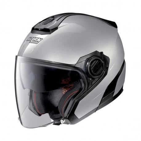 Moto helma Nolan N40-5 Special N-Com Salt Silver 11