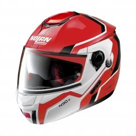 Moto helma Nolan N90-2 Meridianus N-Com Corsa Red 33