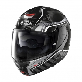 Moto helma X-Lite X-1005 Ultra Carbon Cheyenne N-Com Carbon 16