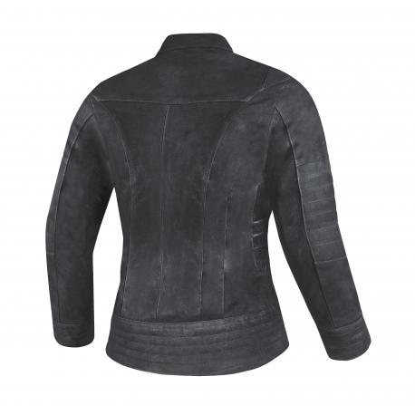 Dámská kožená moto bunda Spark Betty, černá
