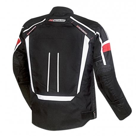Pánská textilní moto bunda Spark Mondo, černá
