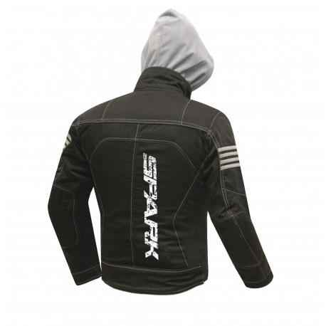 Pánská textilní bunda SPARK AERO, černá
