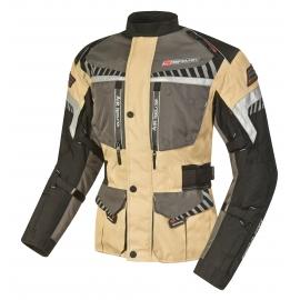 Pánská textilní moto bunda SPARK ROADRUNNER, béžová