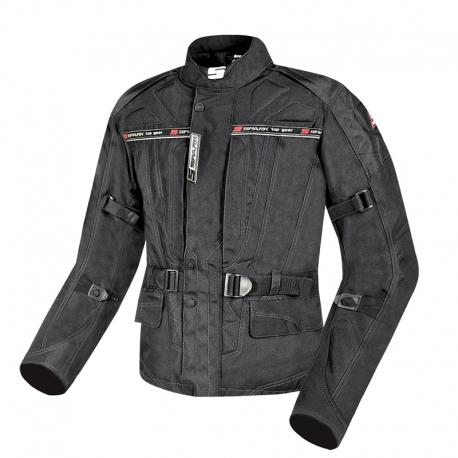 Pánská textilní moto bunda SPARK DURA, černá