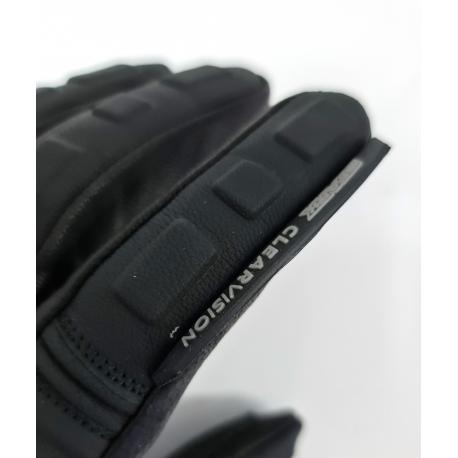 Pánské textilní moto rukavice Spark Loft, černé
