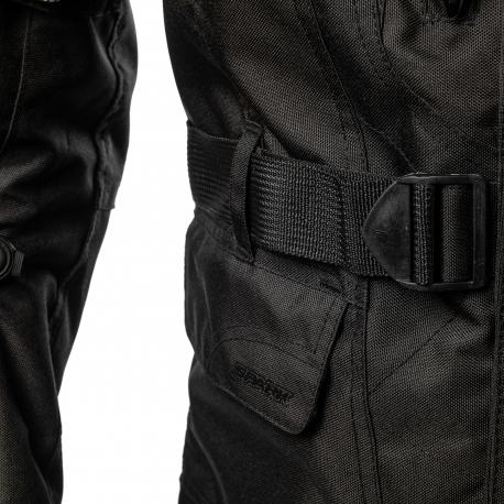 Pánská textilní moto bunda Spark Dura Evo, černá