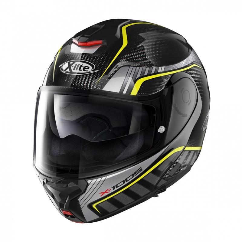 Moto helma X-Lite X-1005 Ultra Carbon Cheyenne N-Com Carbon 18