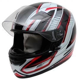 Moto helma Cyber US-39 černo-červená
