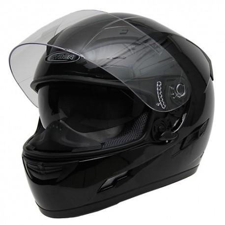 Moto helma Cyber US-80, černá