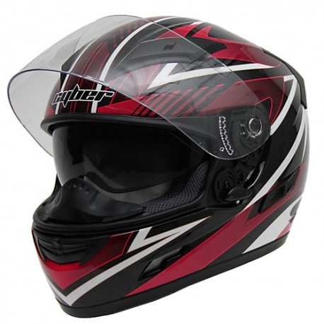 Moto helma Cyber US-80 růžová