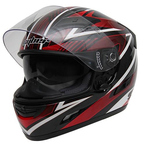 Moto helma Cyber US-80, červená
