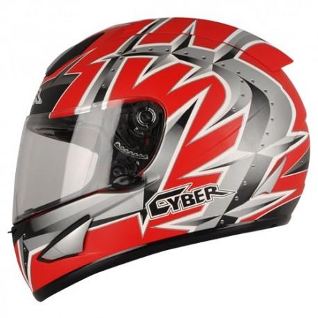 Moto helma Cyber US-95, červená