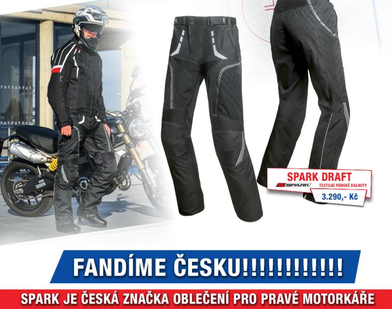 Kalhoty Spark Draft, černé